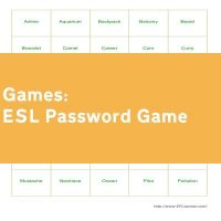 ESL Password Game