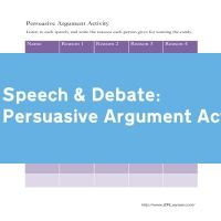 Persuasive Argument Activity
