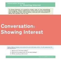 Showing Interest