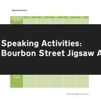 Bourbon Street Jigsaw Activity