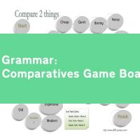 Comparatives Game Board