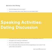 Dating Discussion