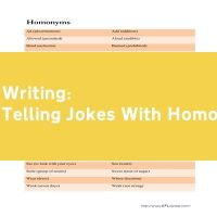 Telling Jokes With Homonyms