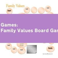 Family Values Board Game
