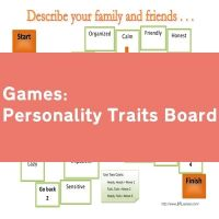 Personality Traits Board Game
